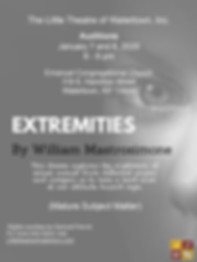 LTW_Extremities - Audition  Poster cropp