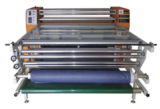 Каландровый пресс (каландр) HJD-J901. (60 м/час)