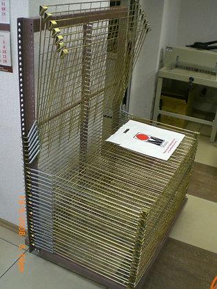 Стеллаж для сушки оттисков  65х100 см