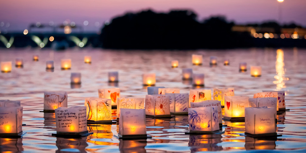 Water Lantern Festival - Vineyard, Utah
