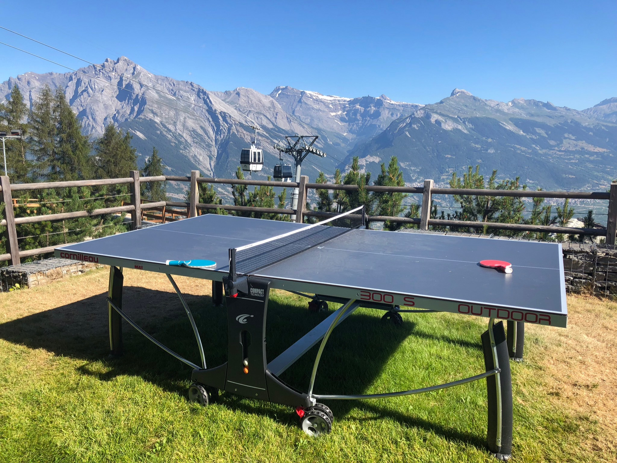 Table tennis Chalet Lisa ping pong