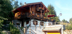 Chalet Lisa in the summer