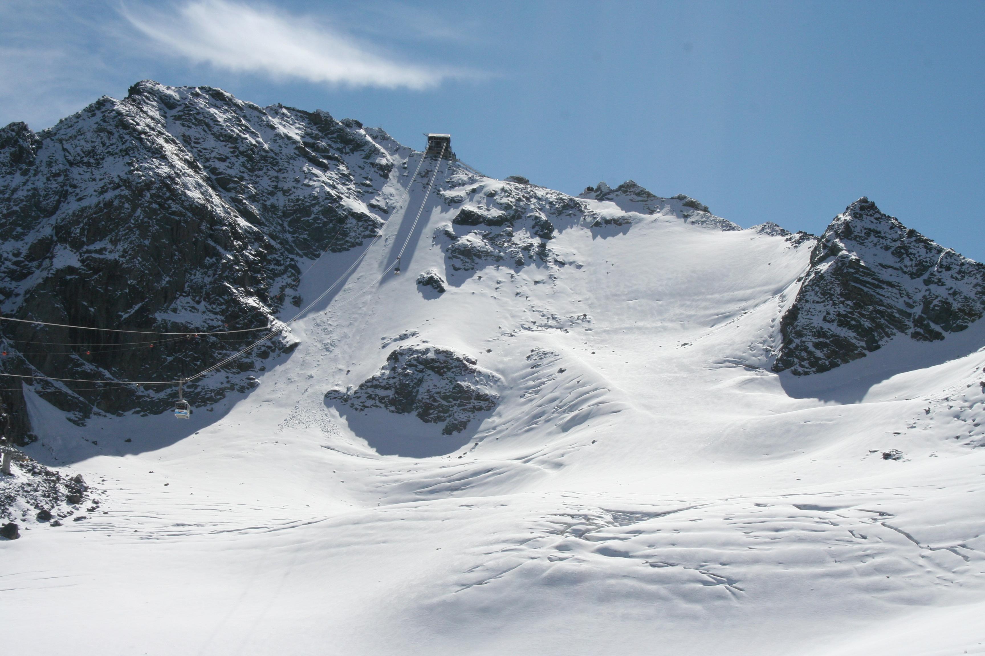 Mont Fort Glacier, Skiing Winter Nendaz