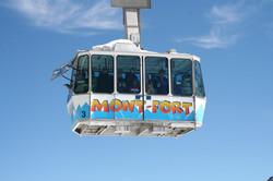 Jumbo Verbier, ski cable car
