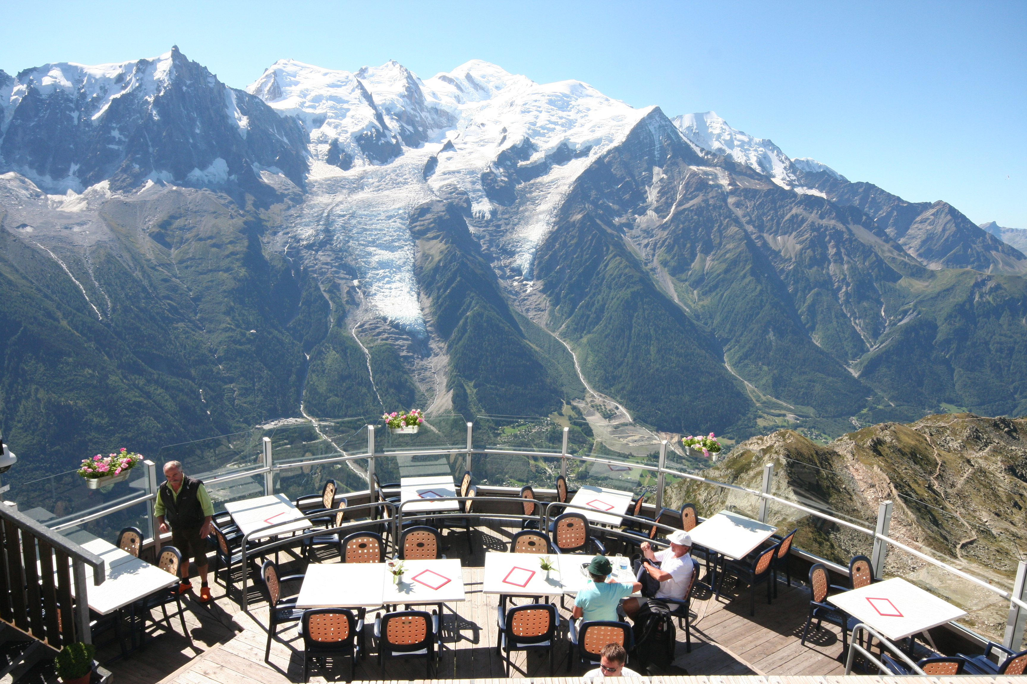 Mont Blanc, Chamonix Brevent