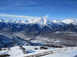Veysonnaz Rhone Valley Skiing in 4 valleys