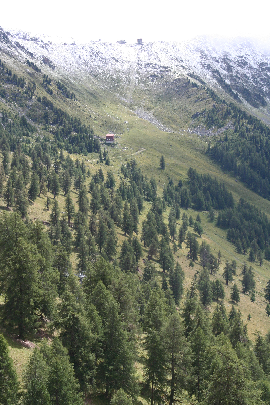 Hiking with a view, Nendaz,