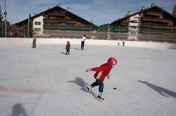 Ice-skating in Autumn