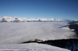 Rhone Valley, skiing and mountain biking