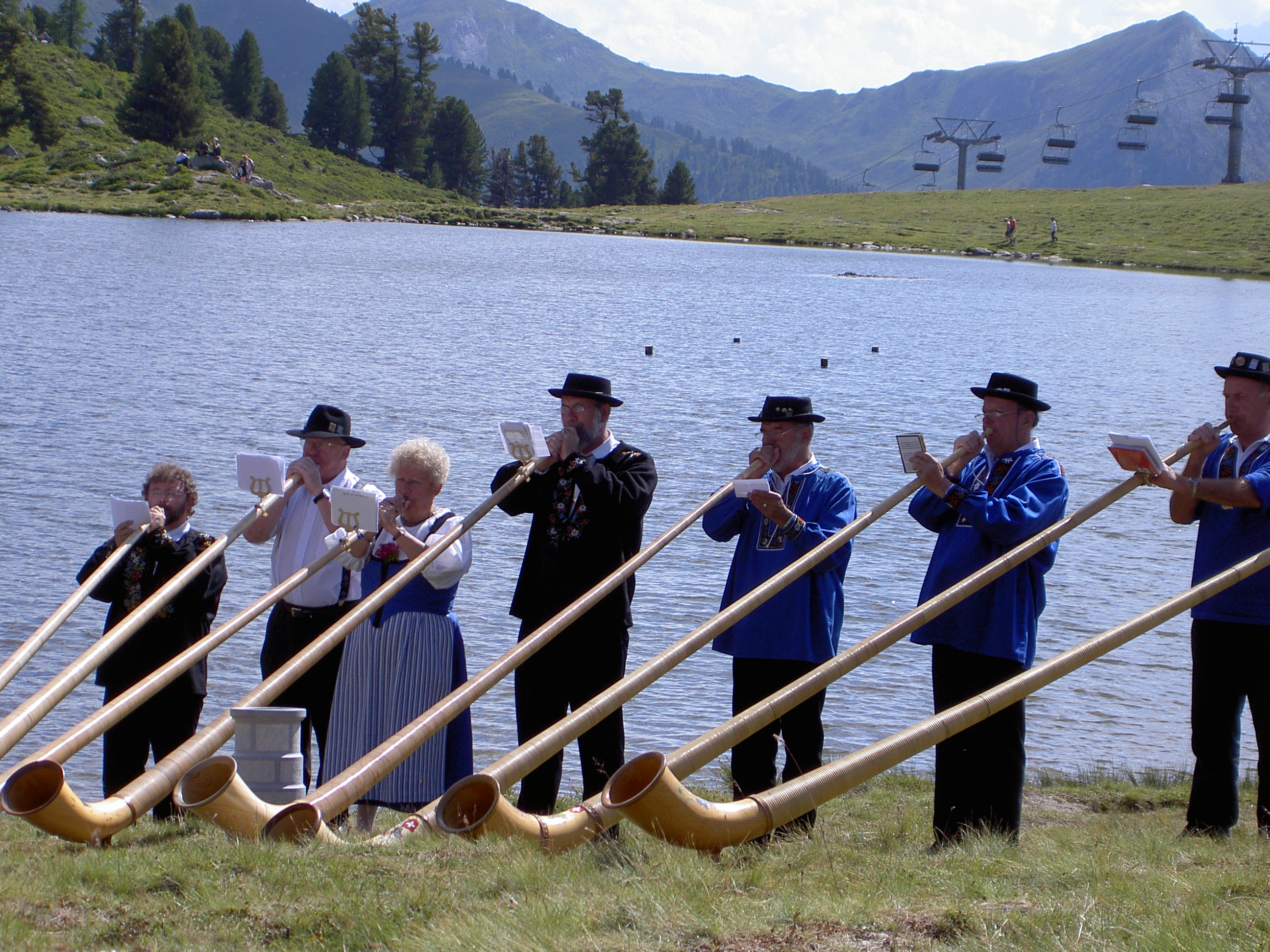 Alphorn International Festival Nendaz summer