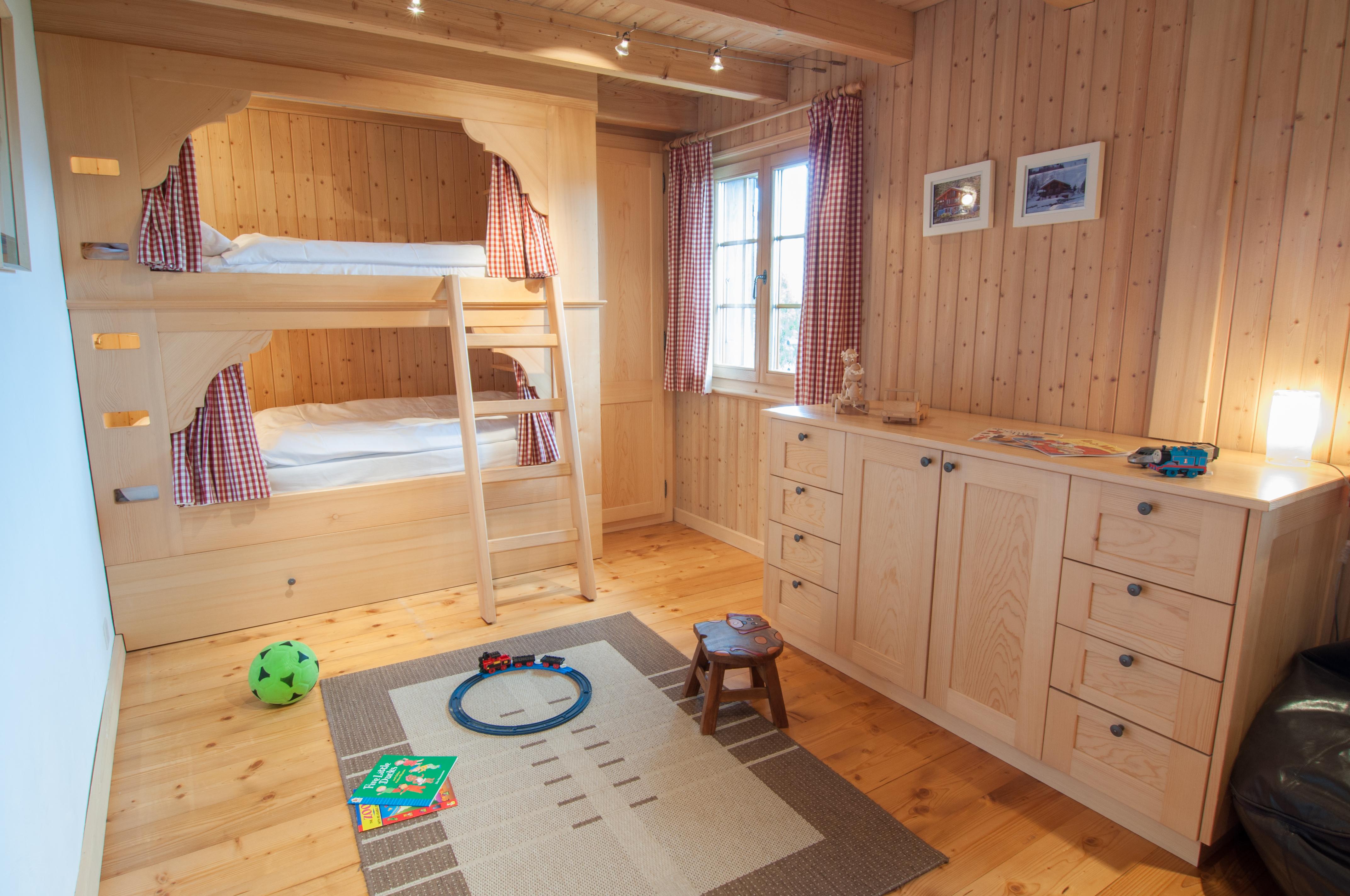 Chalet Lisa Nendaz bunk room
