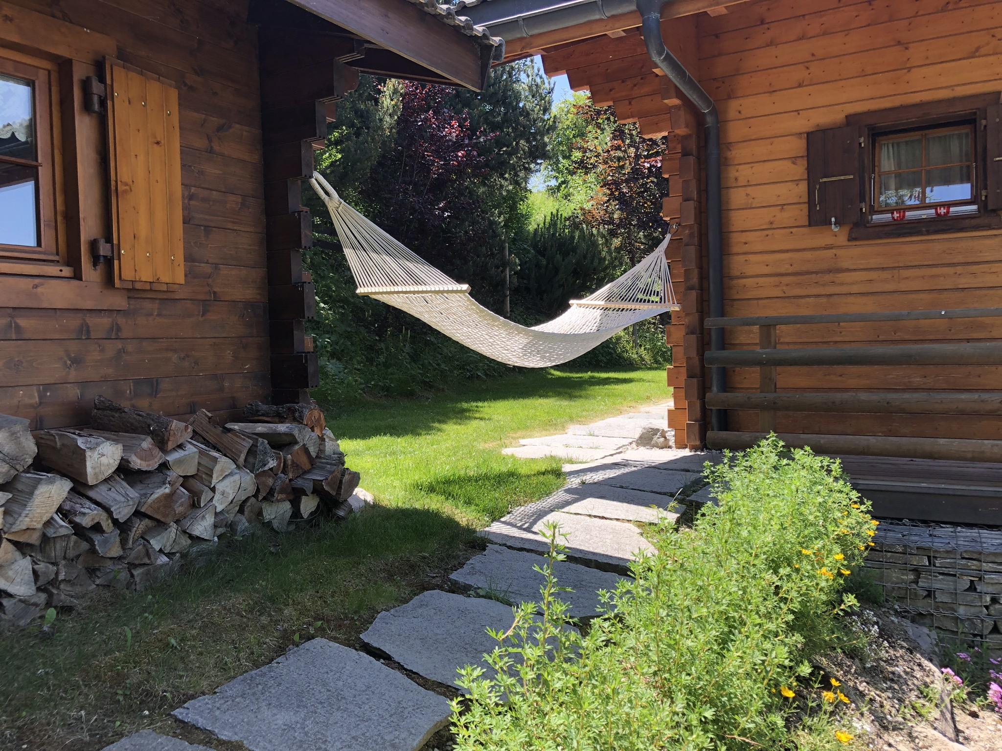 Chalet Lisa Nendaz hammock