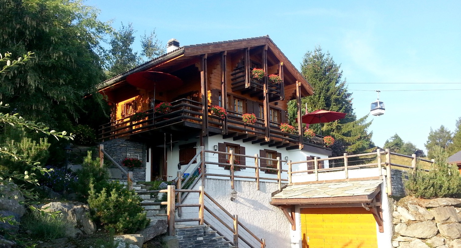Chalet Lisa summer in Nendaz