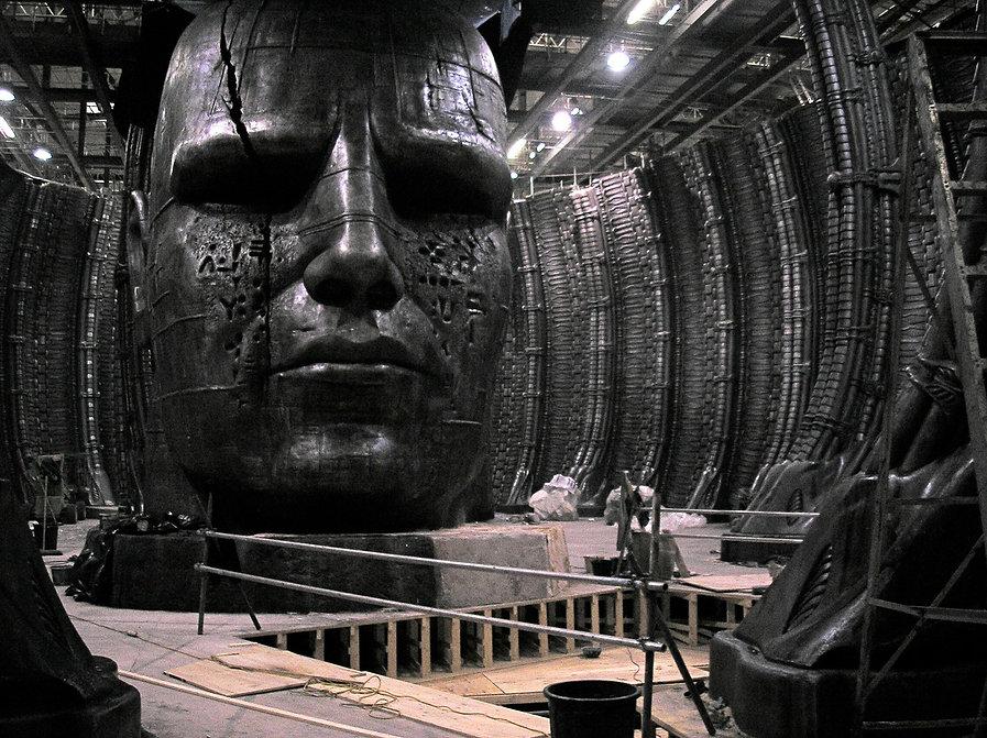 Prometheus Movie Set Sollis Urns banner.