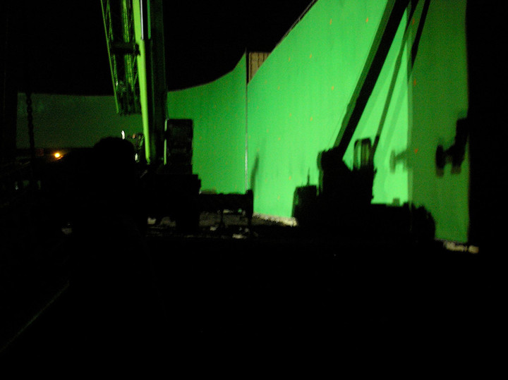 Green screen Prometheus set.