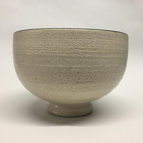 Hand-thrown large rice bowl by Rob Sollis