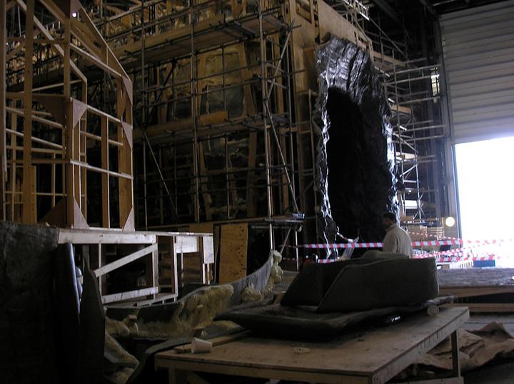 Prometheus, interior studio.