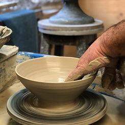 Rob Sollis potter wheeel_UK potter_Etsy.