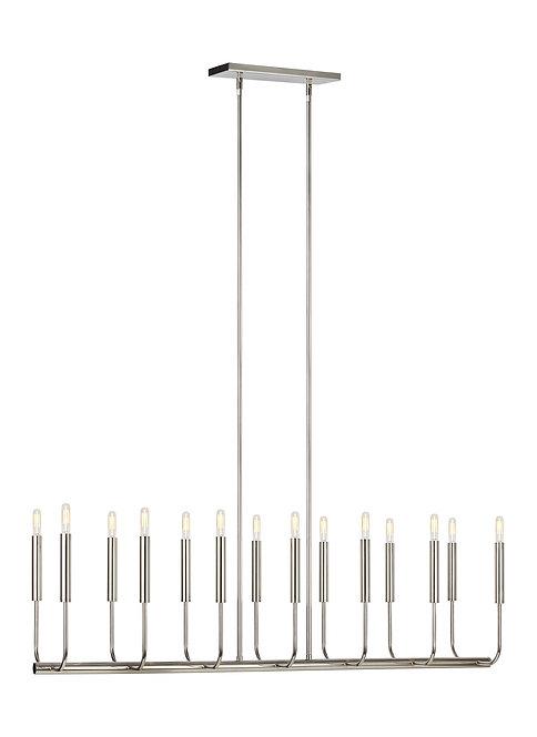 14 - Light Linear Chandelier