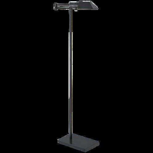Studio Swing Arm Floor Lamp in Bronze