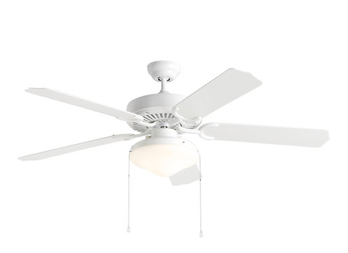 """52"""" Weatherford Deluxe Outdoor Fan - White"""
