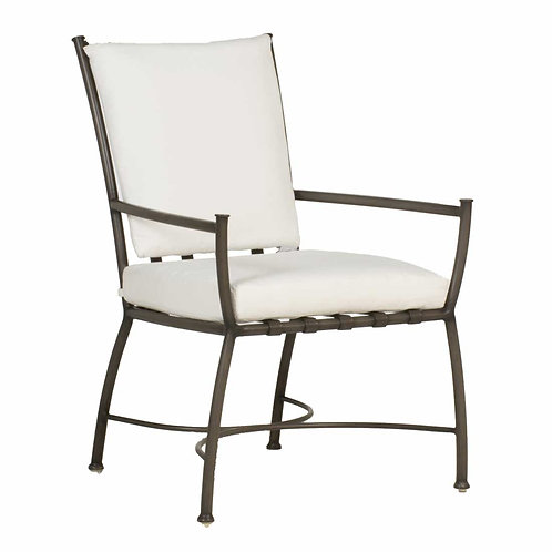 Majorca Aluminum Arm Chair