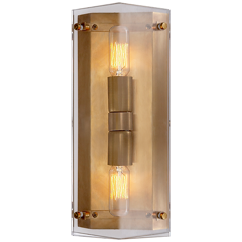 Clayton Wall Sconce in Crystal
