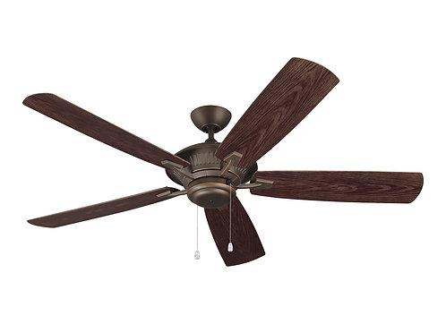 """60"""" Cyclone Outdoor Fan - Roman Bronze"""