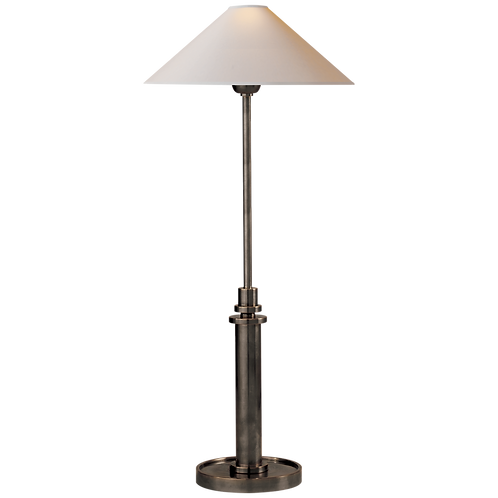 Hargett Buffet Lamp in Bronze with Natural Paper Shade