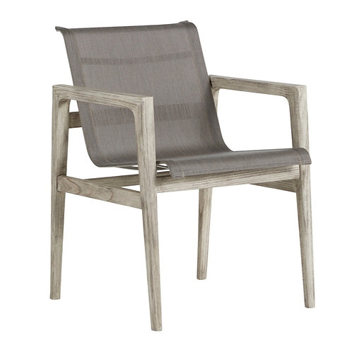 Coast Teak Arm Chair - Oyster