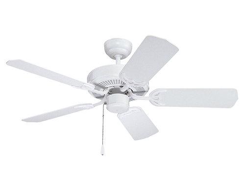 """42"""" Homeowner's Select II Fan - White"""