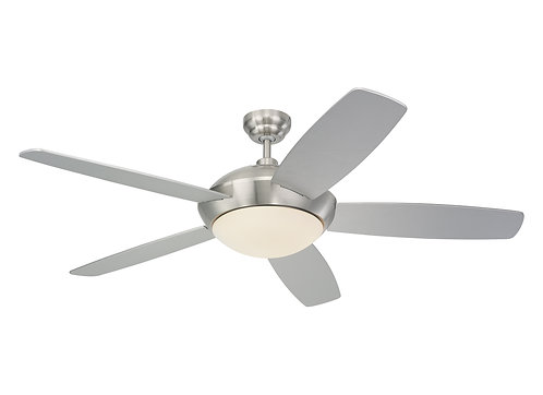 "52"" Sleek Fan - Brushed Steel"
