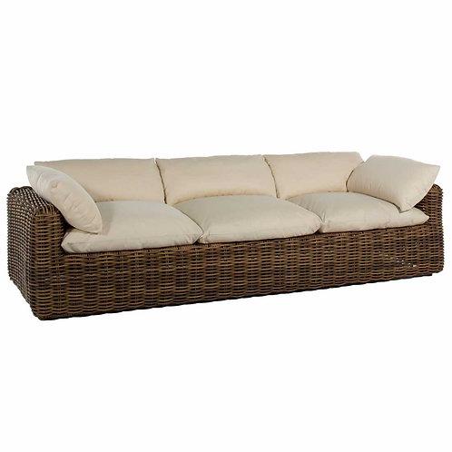 Montecito Woven Sofa - Raffia
