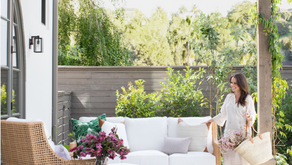 Marie Flanigan's Six Lighting tips to create an outdoor oasis.
