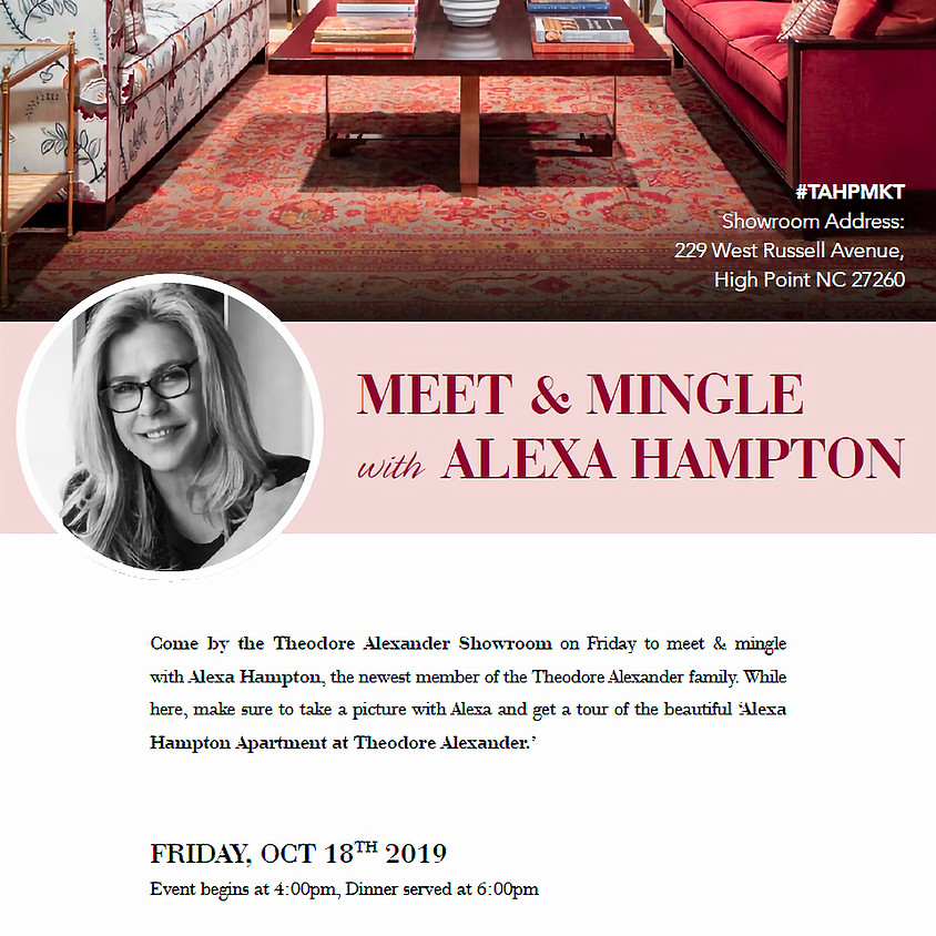 Alexa Hampton Invites You To Theodore Alexander