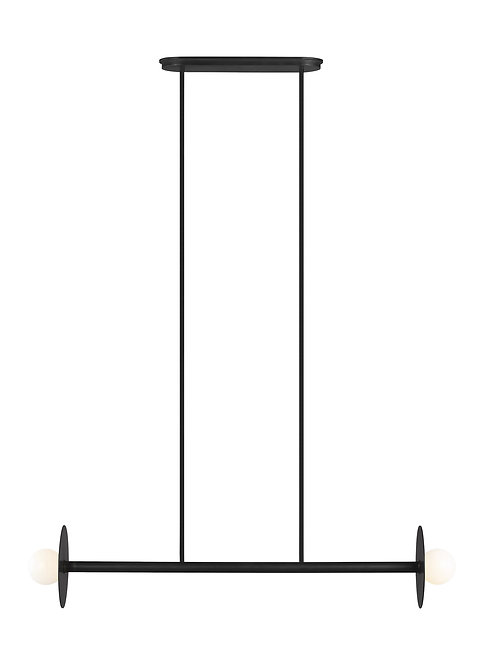 2 - Light Linear Chandelier