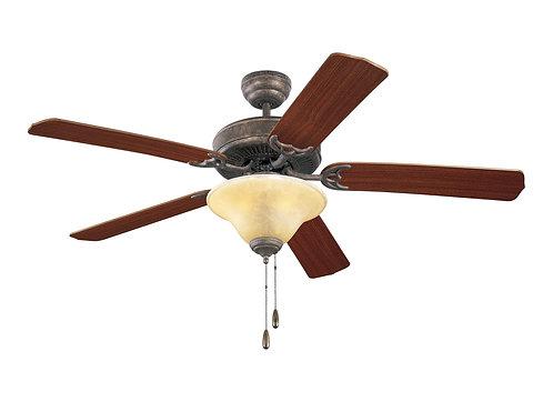 "52"" Homeowner's Deluxe Fan - Tuscan Bronze"
