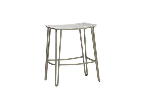 "Pierce 24.5"" Counter Height Stool - Silver"