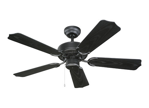 """42"""" Weatherford II Outdoor Fan - Matte Black"""