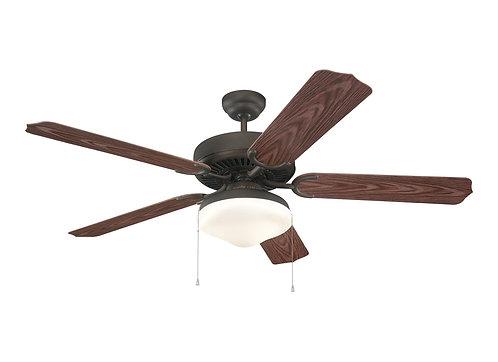 """52"""" Weatherford Deluxe Outdoor Fan - Roman Bronze"""