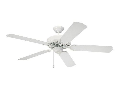 "52"" Weatherford Outdoor Fan - White"