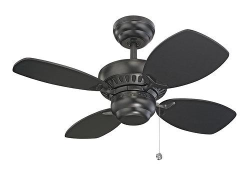 """28"""" Colony II Fan - Black"""