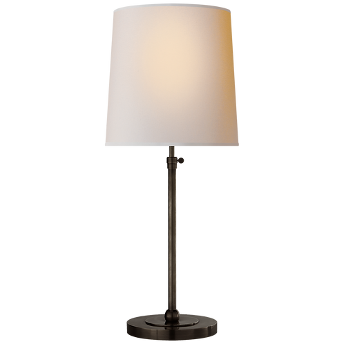 Bryant Large Table Lamp in Bronze with Natural Paper Shade