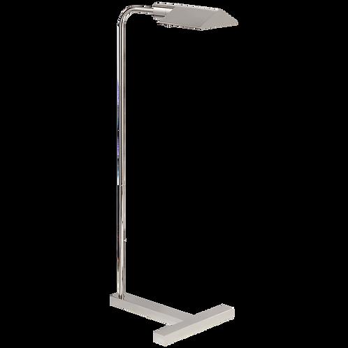 William Pharmacy Floor Lamp in Polished Nickel