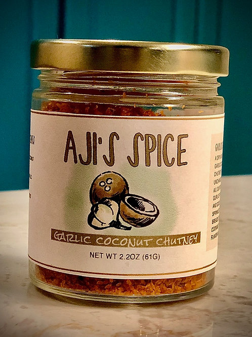 Garlic Coconut Chutney