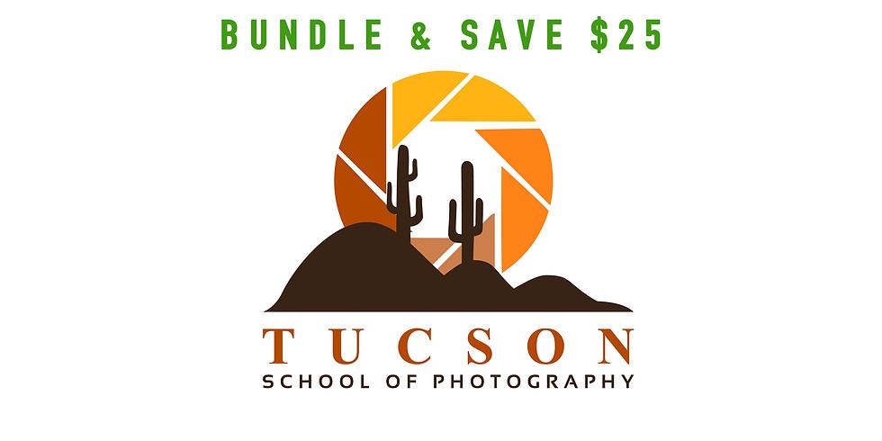 Camera Foundations + Lighting & Composition  $175