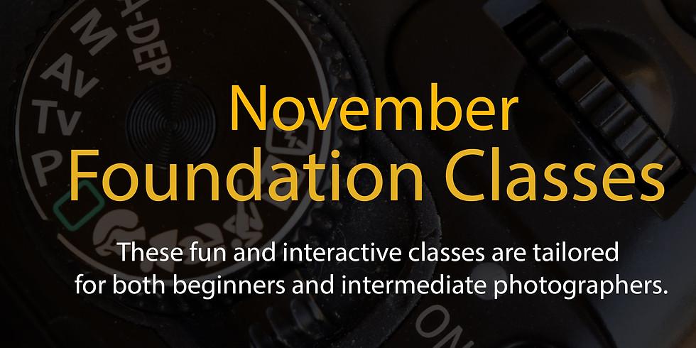 November Foundation Classes