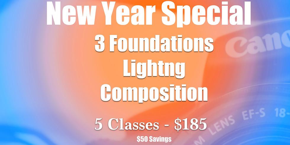 Jan - Bulk Class Discount (5) : $185 - Savings of $50