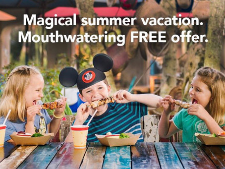 New Exciting Offers for Summer Travel at Walt Disney World