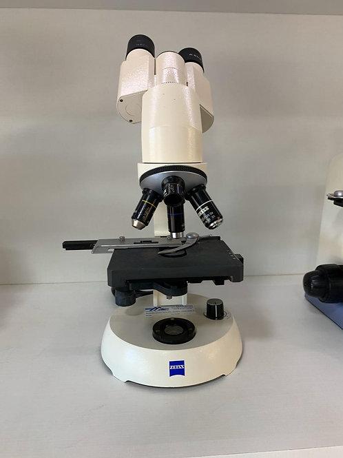 Microscópio binocular Zeiss